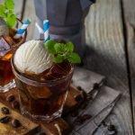 Eiskaffee-Kombucha
