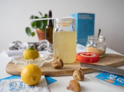 Wasserkefir Rezept, fairment Anleitung