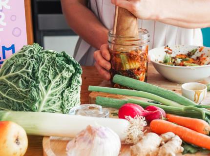 Kimchi, Wirsing, Sellerie Kimchi, fairment