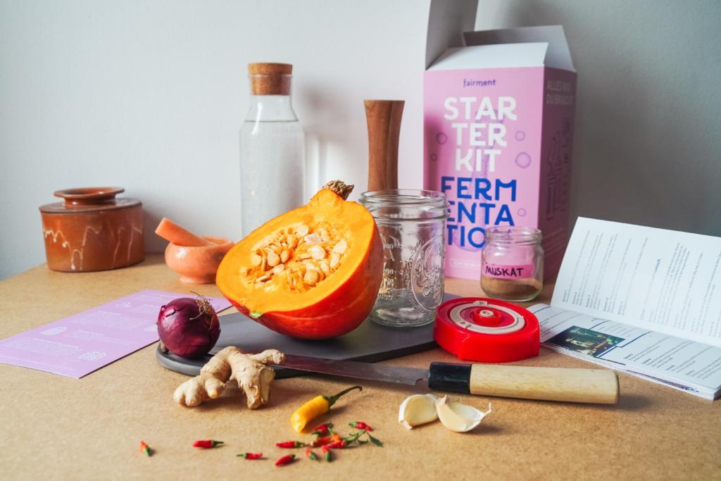 Kürbis fermentieren