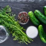 Fairment, Gurken fermentieren, Salzgurken