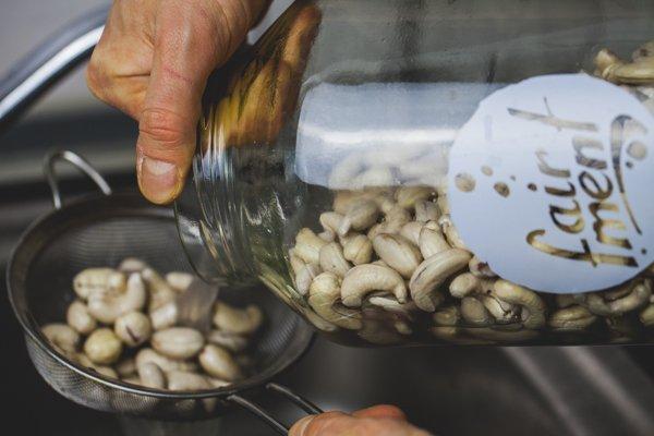 probiotischer veganer Cashewkäse