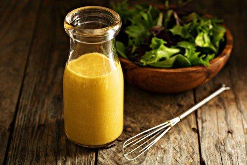 Wasserkefir honig senf dressing