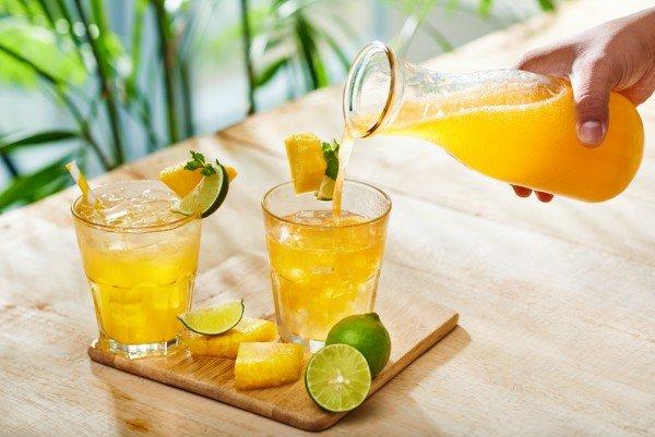 orangen ananas Wasserkefir