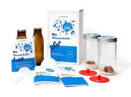 Bio Wasserkefir Set, fairment, fermentieren, fermentation, kombucha, kefir, kaufen, milchkefir, wasserkefir, scoby, kraut, sauerkraut, gurken