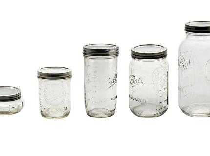 Einmachglas, Mason Jar, Fermentierglas, Gärgefäß, Equipment