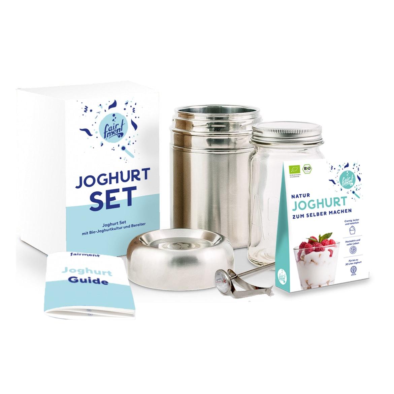 Fairment Joghurt Set - mit Joghurtbereiter und Zubehör ...