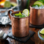 Cocktails mit Ingwerbier, Moscow Mule, Ginger Beer Cocktails