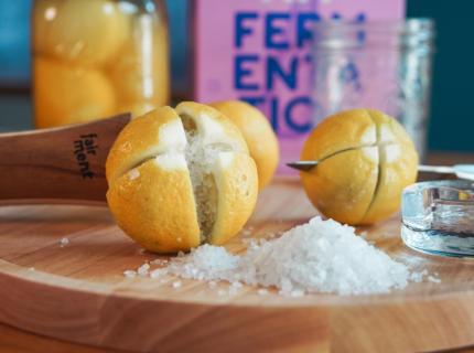 Fairment, Salzzitronen, fermentieren, Fermentation Starter Set