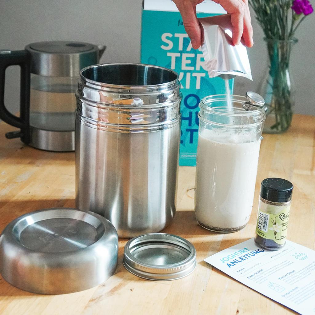 Stärke, fairment, Joghurt, Milch