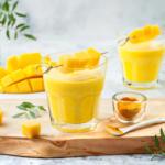 Mango Lassi mit Milchkefir, Rezept