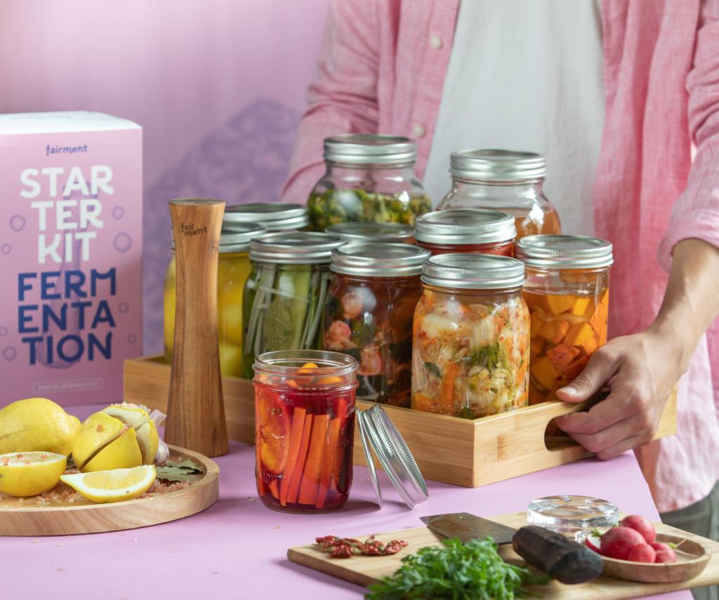 fermentierte Lebensmittel, fairment Starter Kit