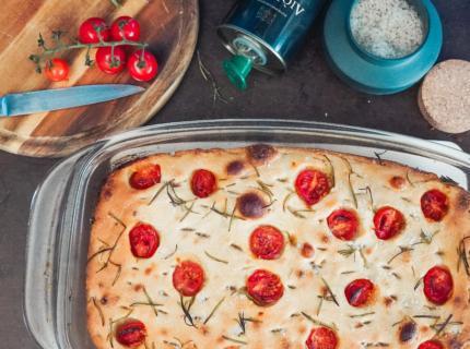 Glutenfreies Sauerteig-Focaccia ganz einfach selber machen, fairment, glutenfrei Focaccia, Sauerteig