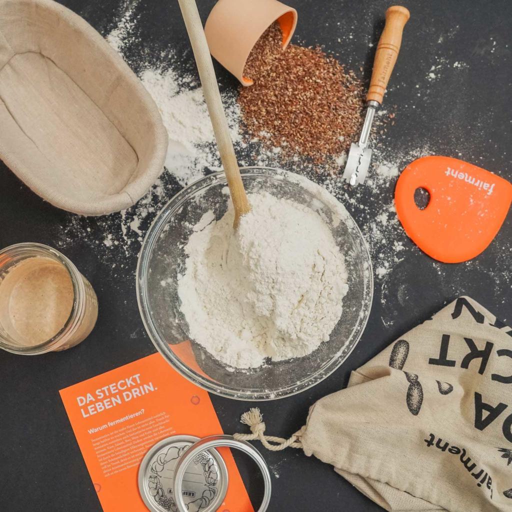 Sauerteig, Brot, fairment, Fermentation