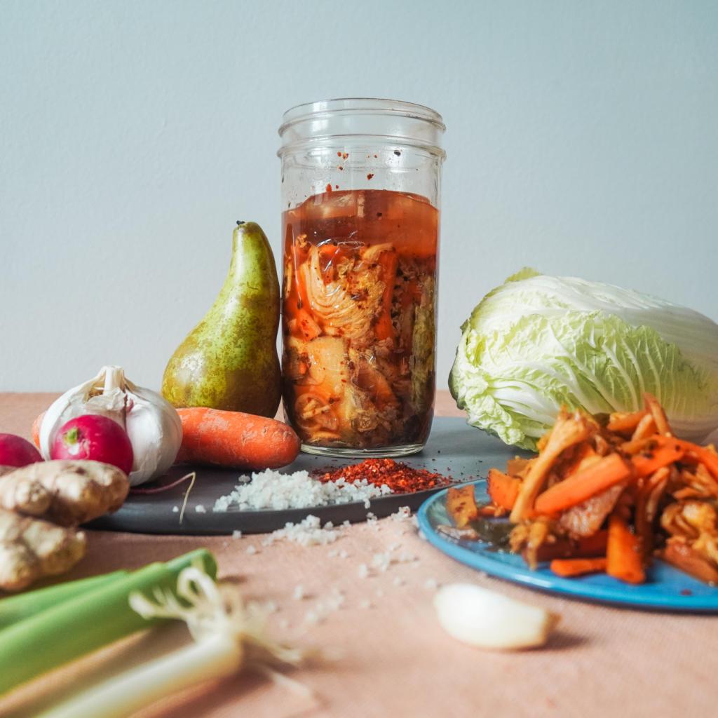 Chinakohl Rezept, Kimchi einfach selber machen, fairment, veganes Kimchi
