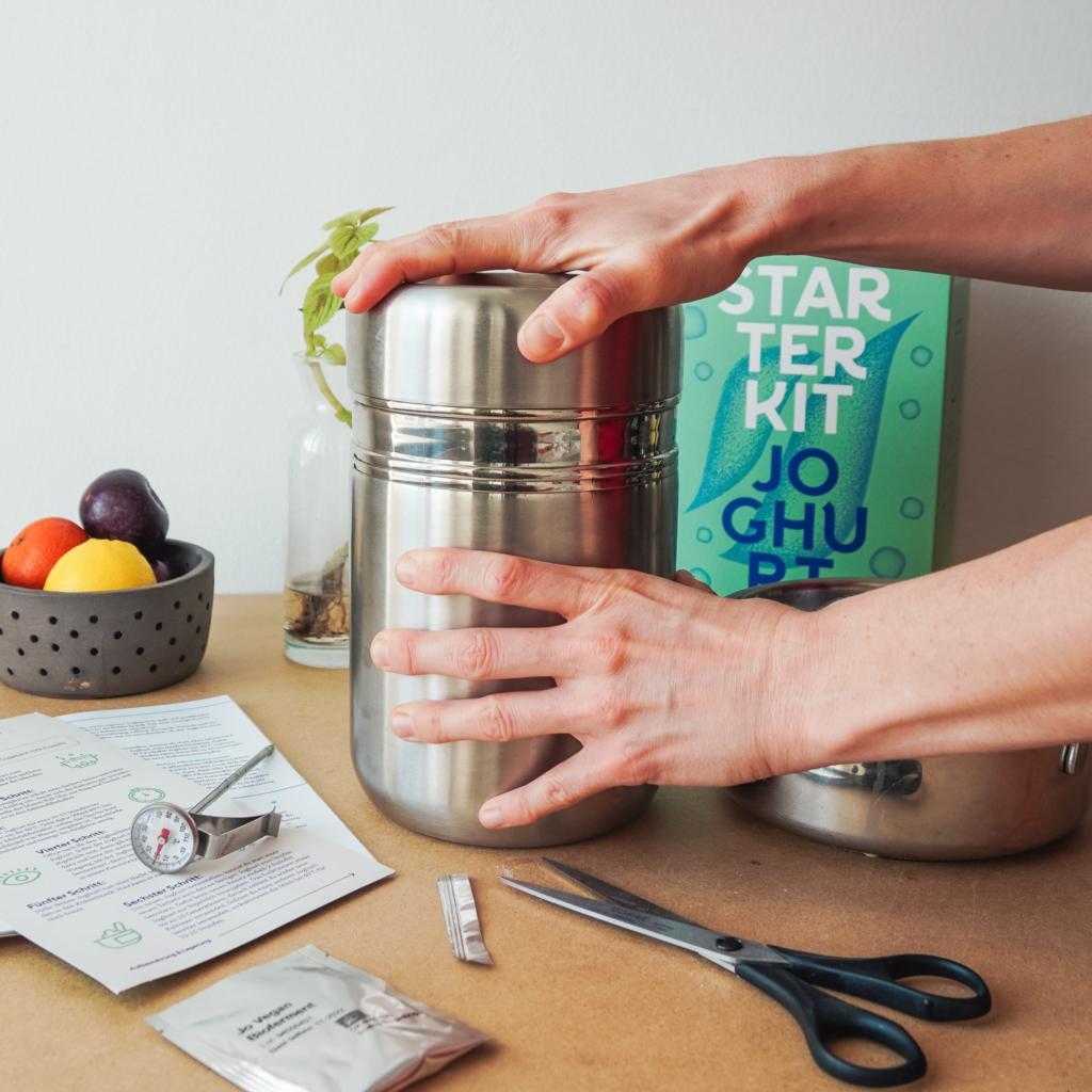Joghurtbereiter ohne Strom, fairment