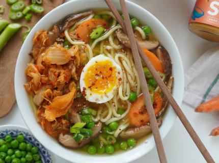 Kimchi Ramen, Kimchi, Ramen, Fairment