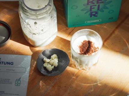 Milchkefir, Fermentation, Kefir, Lassi