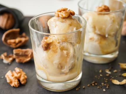 Kefir Eis, Ferment, Walnusseis