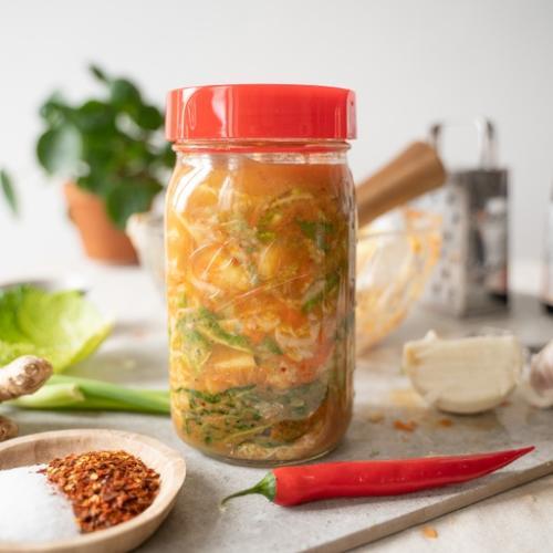 Kimchi, Wilde Fermente, Quitte, Fermentation