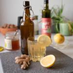 Switchel, Switchel Rezept, Apfelessig, Ingwer, Honig, Limonade