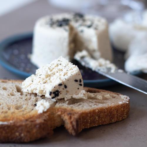Veganer Käse aus Cashewkernen