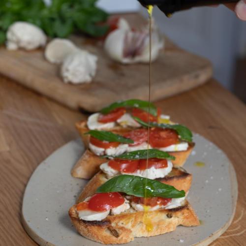 veganer Mozzarella, Rezept