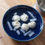 Mozzarella Herstellung Eiswasser