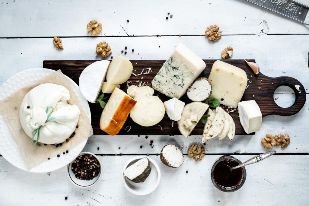 verschiedene Käsesorten, fairment, Keinkäse, Käse Kulturen vegan, veganer Käse