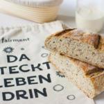 Sauerteigbrot glutenfrei, glutenfreies Brot, glutenfrei, fairment