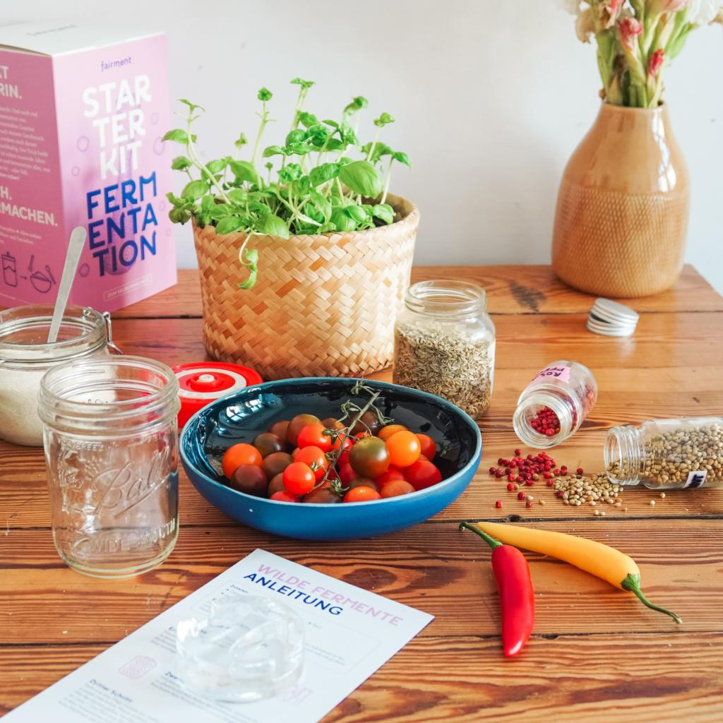 tomaten fermentieren, fermentierte tomaten, fairment