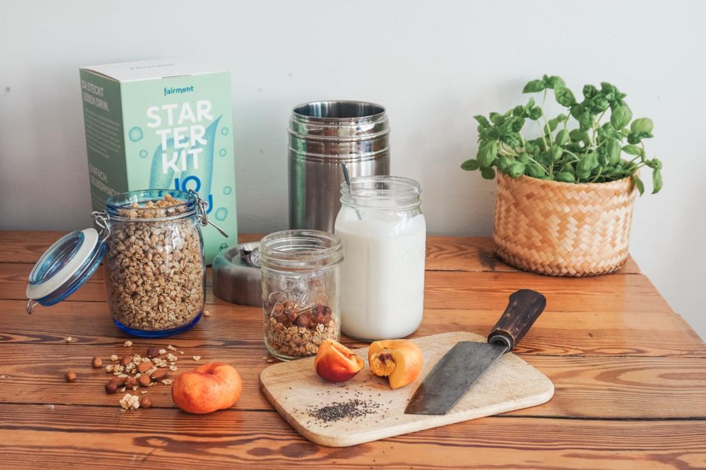 Joghurt vegan, fairment, Joghurt selbst machen, Mikroben